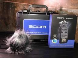 Gravador Zoom H6 / BLK/120GL novo lacrado de fábrica