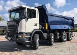 Scania G440 2018 - 8x4 - Caçamba Rossetti 18m³ - 04 Unidades<br><br>