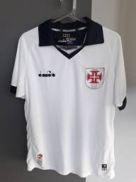Camisa Diadora Vasco Branca tamanho M oficial original
