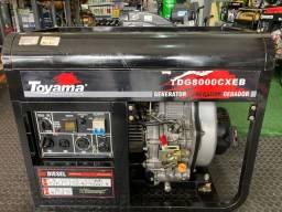 Gerador Diesel 6,5KVA Monifasico Bivolt - Partida Eletrica