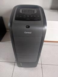 Climatizador Consul Bem Estar refresca, filtra, ventila e umidifica.