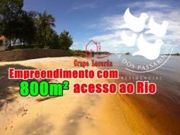 Praia dos Passarinhos, 20 x 40 = 800m², Pronto Construir, Pier, Praia Privativa
