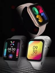 Smartwatch FK78 44mm + Pulseira Extra Milanese ou Silicone