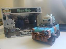 Funko Pop Mad Max Rick 37 + Weaponized Morty 173