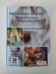 Livro Medicina Veterinária - Prurito canino: diagnóstico y tratamiento.<br><br>