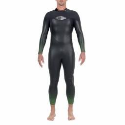 Long John Manga Longa Backzip 5.3mm Triathlon 5a Águas Abertas Mormaii<br><br>