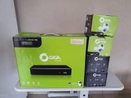 DVR Giga 4 Canais + Cameras HD + HD 1 TB + Caixinhas