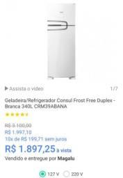 Geladeira / refrigerador Consul Frost Free duplex 340 LT ( oferta Black ?)