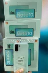 XIAOMI NOTE 10 128GB 6GB ram lacrados pronta entrega