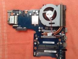 Placa-mãe I3 Intel Ativ book Samsung NP270E4E KDABR (retirada de peças)