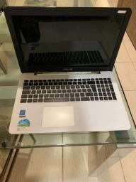 Notebook asus z550ma para remoção de peças.