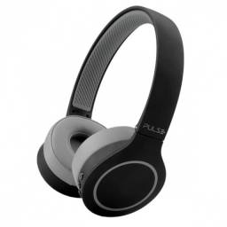 headphone bluetooth 5.0 pulse head beats preto-cinza bateria 20 horas ph339