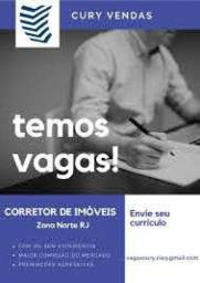 Título do anúncio: Contratando - Corrrtores com Creci ou Estagio - Cury Vendas