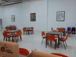 Cadeiras Polipropileno Novas Colorido Igreja Empresas Escola Cursos Apartamento Residencia