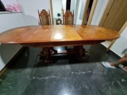 Mesa madeira 8 a 10 lugares