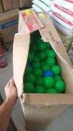 100 bolas coloridas para piscina/cabana