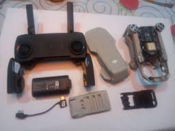 Mavic mini peças, controle e 1 bateria
