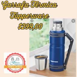 Garrafa térmica tupperware importada