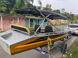 Fabricamos canoas e botes de alumínio PREÇO FÁBRICA