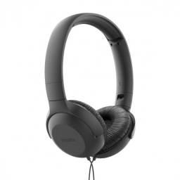 fone de ouvido supra auricular com mic tauh201bk preto