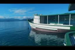 Traineira de madeira  Barco de madeira