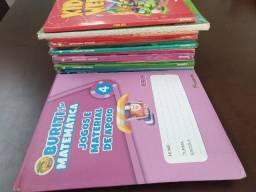 Livros Didáticos 4º ano Coleção Buriti Plus