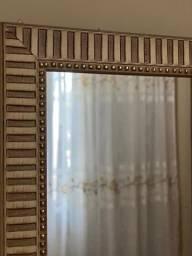Espelho com moldura 42x92 cm