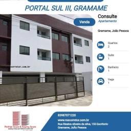 Apartamento para Venda em João Pessoa, Jardim Veneza, 2 dormitórios, 1 suíte, 1 banheiro,