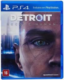 Detroit Become Human - PS4 - PlayStation 4 Jogo Game