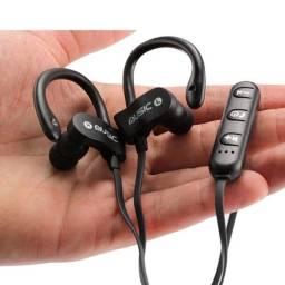 Fone de ouvido SEM FIO Intra auricular bluetooth com apoio pra orelha 100$