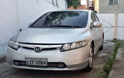 Honda New Civic 1.8 Doc Ok Com Kit GNV Completo