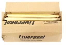 Baquetas Liverpool Ponta de Estoque (50 unidades)