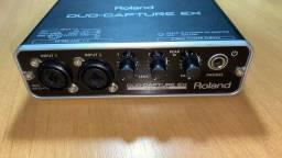 Interface de Audio Roland Duo Capture Ex