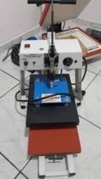 Prensa Térmica, Estampa para camiseta - Compacta Print R25s 25x35cm
