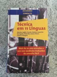 Dicionário compacto - 11 línguas