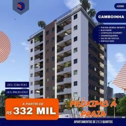 Apartamento para Venda em Cabedelo, Camboinha, 2 dormitórios, 1 suíte, 2 banheiros, 1 vaga