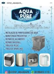 MANUTENÇÃO E INSTALAÇÃO DE PURIFICADORES DE ÁGUA