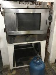 Forno turbo gás ideal para Panificadora