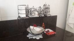 Porta pratos copos talheres rustico