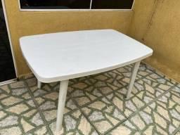 Jogo de mesa grande 4 cadeiras