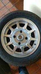 Título do anúncio: Rodas e pneus firestone