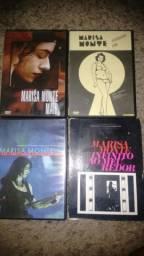 DVDs (Marisa Monte, Maria Bethânia, Gal Costa, Chico Buarque, Maria Rita, Elis Regina...