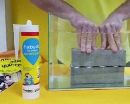 Cola FixTudo Quartzolit 400g (cola até debaixo d'água)