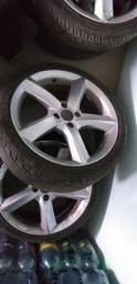 Rodas 17 Com pneus semi novos