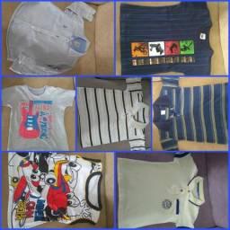 Camisas de Menino 01 ano