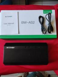 Caixa Blitzwolf BW-AS2 40Watts Lançamento Bluetooth