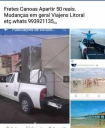 Canoas Fretes apartir 50reais, whats 993921135