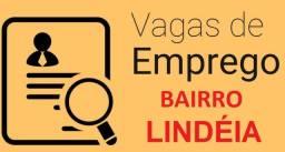 Vagas de Emprego para Moradores Bairro Lindéia - Hamburgueria