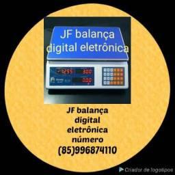 JF'balança digital eletrônica,40k, bateria e energia