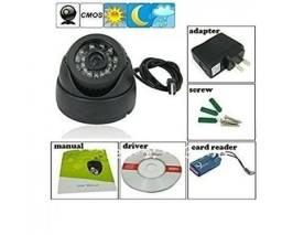Vendo câmera de segurança done com cartão de memória 32gb